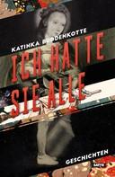 Katinka Buddenkotte: Ich hatte sie alle ★★★