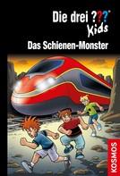 Boris Pfeiffer: Die drei ??? Kids, 74, Schienen-Monster (drei Fragezeichen Kids)