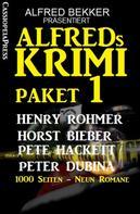 Henry Rohmer: Alfreds Krimi Paket 1 ★