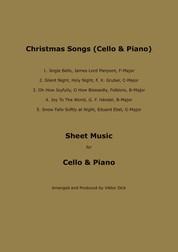 Christmas Songs - Sheet Music for Cello & Piano