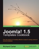 Richard Carter: Joomla! 1.5 Templates Cookbook