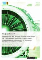 Nadja Lachmund: Optimierung des Technologieauswahlprozesses im Unternehmen Rolls-Royce Deutschland