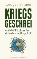 Ludger Vollmer: Kriegsgeschrei