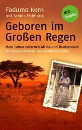 Geboren im Großen Regen - Mein Leben zwischen Afrika und Deutschland - Mit einem Vorwort von Karlheinz Böhm
