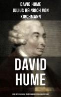 David Hume: David Hume: Eine Untersuchung über den menschlichen Verstand