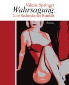 Valerie Springer: Wahrsagung