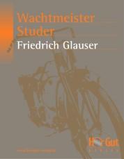 Wachtmeister Studer - Kriminalroman