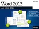 Sabine Lambrich: Microsoft Word 2013 auf einen Blick ★★★★★