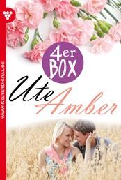 Ute Amber 4er Box – Liebesromane - Die Erbin von Burg Falkenhorst – Das Mädchen im Silberkleid – Die Schlossherrin – Das Schicksal hat es so gewollt