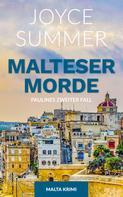 Joyce Summer: Malteser Morde ★★★