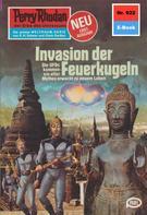 Marianne Sydow: Perry Rhodan 922: Invasion der Feuerkugeln ★★★★