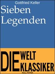 Sieben Legenden - Erzählungen