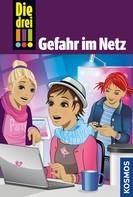 Kari Erlhoff: Die drei !!!, 68, Gefahr im Netz (drei Ausrufezeichen)
