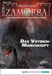 Professor Zamorra - Folge 1105 - Das Voynich-Manuskript