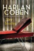 Harlan Coben: Der Insider - Myron Bolitar ermittelt ★★★★
