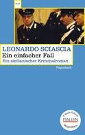 Leonardo Sciascia: Ein einfacher Fall ★★