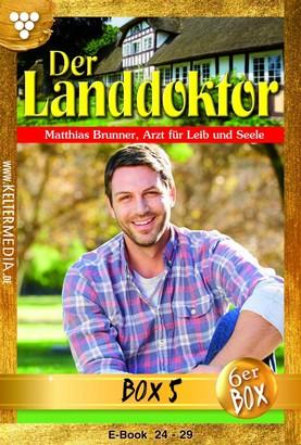 Der Landdoktor Jubiläumsbox 5 – Arztroman