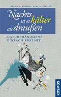 Bruno P. Kremer: Nachts ist es kälter als draußen ★★★★★