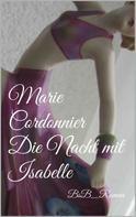 Marie Cordonnier: Die Nacht mit Isabelle ★★★★