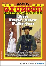 G. F. Unger 1985 - Western - Am Ende alles Fährten