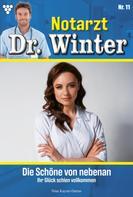 Nina Kayser-Darius: Notarzt Dr. Winter 11 – Arztroman