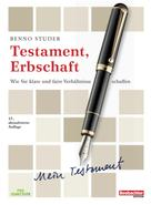 Benno Studer: Testament, Erbschaft