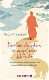 Dem Sinn des Lebens ist es egal, wo er dich findet - Die unglaubliche Lebensgeschichte eines buddhistischen Mönchs