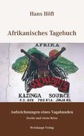 Hans Höfl: Afrikanisches Tagebuch