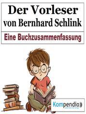 Der Vorleser von Bernhard Schlink