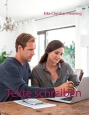 Texte schreiben - 50 Vorlagen von der Textagentur etexter
