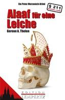 Gereon A. Thelen: Alaaf für eine Leiche ★★★★