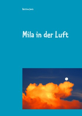Mila in der Luft