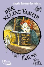 Der kleine Vampir liest vor