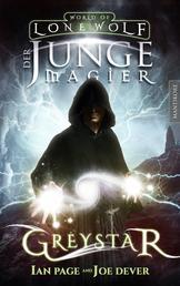 Greystar 01 - Der junge Magier - Ein Fantasy-Spielbuch in der Welt des Einsamen Wolf