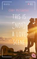 Cori McCarthy: This is not a love scene ★★★★