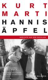 Hannis Äpfel - Gedichte aus dem Nachlass