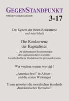 GegenStandpunkt Verlag München: GegenStandpunkt 3-17