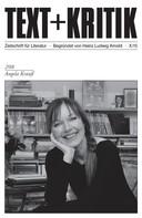 Anke Bastrop: TEXT+KRITIK 208 - Angela Krauß
