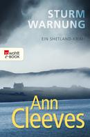 Ann Cleeves: Sturmwarnung ★★★★