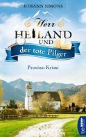 Johann Simons: Herr Heiland und der tote Pilger ★★★