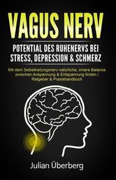 VAGUS NERV - Potential des Ruhenervs bei Stress, Depression & Schmerz - Mit dem Selbstheilungsnerv natürliche, innere Balance zwischen Anspannung & Entspannung finden | Ratgeber & Praxishandbuch