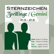 Sternzeichen Zwillinge 21.5.-21.6.