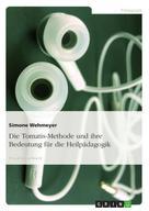 Simone Wehmeyer: Die Tomatis-Methode und ihre Bedeutung für die Heilpädagogik ★★★★