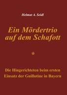 Helmut A. Seidl: Ein Mördertrio auf dem Schafott ★★★★★