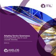 Adopting Service Governance - Governing Portfolio Value for Sound Corporate Citzenship