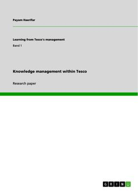 Knowledge management within Tesco