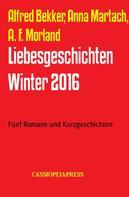 Alfred Bekker: Liebesgeschichten Winter 2016