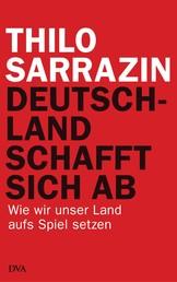 Deutschland schafft sich ab - Wie wir unser Land aufs Spiel setzen