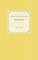 Marie Ebner-Eschenbach: Krambambuli