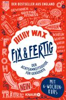Ruby Wax: Fix & fertig ★★★